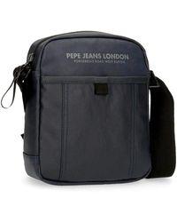 Pepe Jeans Factory Borsa a tracolla media - Blu