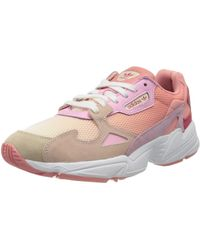 adidas - Womens Falcon W Sneaker - Pink,Pink,11 - Lyst