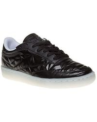 Reebok - Club C 85 Hype Metallic Trainers Black - Lyst