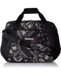 Reebok S One Series 30l Grip Holdall One Size Multicoloured - Black