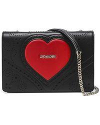 Love Moschino Jc4216pp0a Cross-body Bag - Black