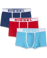 DIESEL Umbx-damienthreepack Briefs - Blue