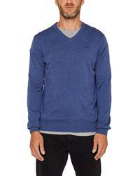Esprit 999ee2i804 suéter - Azul