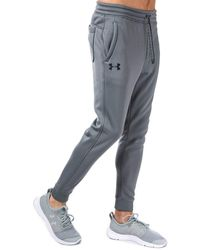 Under Armour Mens Mens Ua Storm Icon Tracksuit Bottoms In Grey - 2xl