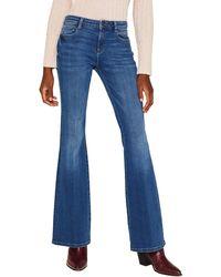 Esprit 109ee1b006 Flared Jeans - Blue
