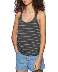 O'neill Sportswear LW Essentails Tank Top R-Back Maglietta - Nero