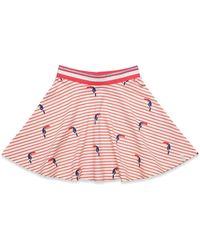 Esprit Kids Knit Skirt Falda - Rojo