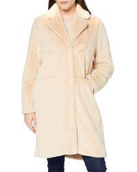 True Religion Coat Mink Fake Fur Faux - Multicolour