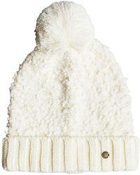 Roxy Bonnet pour - Couleur Marshmallow White - Taille - Blanc