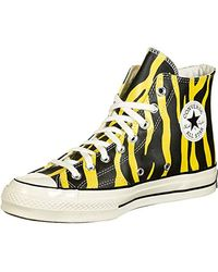 Converse 70 Archive Print Leather Hi Scarpa - Multicolore