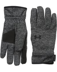 Under Armour Storm Coldgear® Infrared Elements Gloves Small Graphite-040 - Black