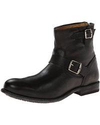 Frye Tyler Engineer Boot - Black