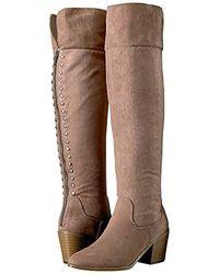 Madden Girl Melinda Fashion Boot - Brown