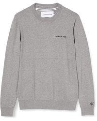 Calvin Klein Essential Crew Neck Sweater Maglione - Nero