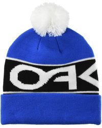 Oakley Factory Cuff Beanie Cold Weather Hat - Blue