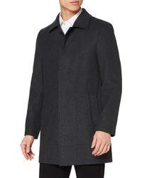 FIND Long Wool Coat - Grey