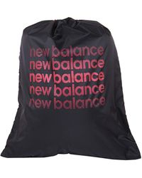 New Balance Logo Cinch Sack/Drawstring Bag - Schwarz