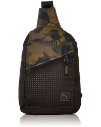 PUMA 's Sidewall Sling Backpack - Multicolor