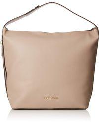 Calvin Klein Drive Hobo Shoulder Bag - Brown