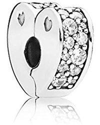 PANDORA Bead Charm Donna argento - 797020CZ - Metallizzato