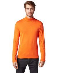 Tom Tailor - Langarmshirt mit Turtle-Neck - Lyst