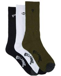 Billabong Crew Socks - - U - Green