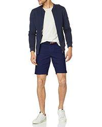 Tommy Hilfiger Brooklyn Light Twill Belt Shorts - Blau