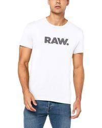 G-Star RAW - Holorn R T S/S Camiseta - Lyst