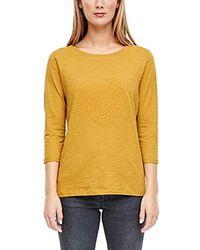 S.oliver T-Shirt - Gelb