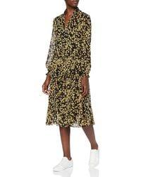 Tommy Hilfiger Tjw Printed Midi Shirt Dress Vestito - Multicolore