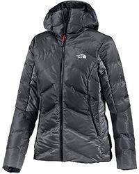 The North Face Outdoor Jacket Fuseform Dot Matrix Hooded Outdoor Jacke - Black