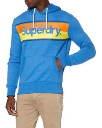 Superdry Core Stripe Hood Sweat-Shirt - Gris