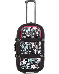 Roxy Large Wheeled Neoprene Suitcase - Schwarz