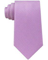 Sean John - Diamond Solid Unsolid Tie - Lyst