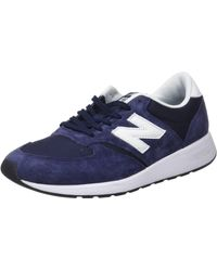 New Balance 420, Sneakers Basses Mixte Adulte - Bleu