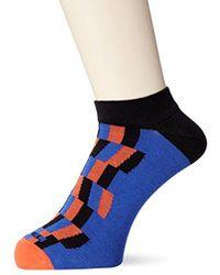 DIESEL - Skm-gost Geometric Ankle Sock-low Cut - Lyst