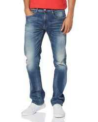 Replay M1005 .000.573 584 Straight Jeans - Blue