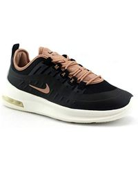 Aa2168 Wmns Air Max Axis Black Rose Black Shoes Woman Laces Fabric 38.5