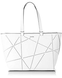 Sofie FemmeLot De Blanc Perforated Sac Tote 1Multicoloreartic Whitevapor Large N0O8nPvmwy