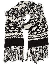 Pepe Jeans - Francisca Scarf Pl060140, Black, One Size - Lyst