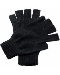 Regatta Fingerless Mitts - Black