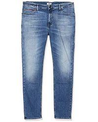 Tommy Hilfiger Simon Skinny Nsumd Jeans Straight Uomo - Blu