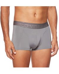 Tommy Hilfiger Low Rise Trunk Shorties - Gris