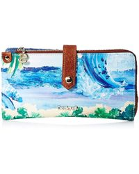 Desigual Mone_landscape Ocean Ester - Blue