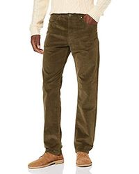 Wrangler Arizona Corduroy Pantaloni Uomo - Verde