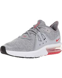 new concept 00ded b4662 Air Max Sequent 3 (gs) Running Shoes - Gray