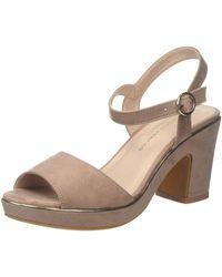 Dorothy Perkins Wide Fit Rhonda Platform Sandals - Multicolour