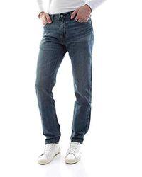 Levi's 511 Slim Fit Jeans i Denim dalla vestibilità Aderente e Confortevole Uomo - Blu