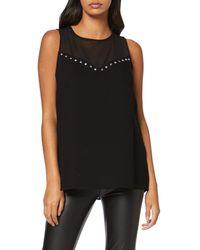 Guess SL Suzie Top Camiseta de Tirantes - Negro