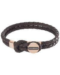 Emporio Armani Bracelet EGS2177221 - Marron